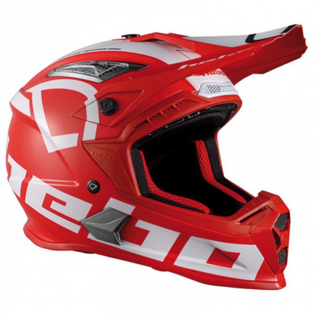 Casco Hebo Mx factor red