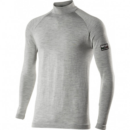 Maglia baselayer carbon merinos wool SIX2