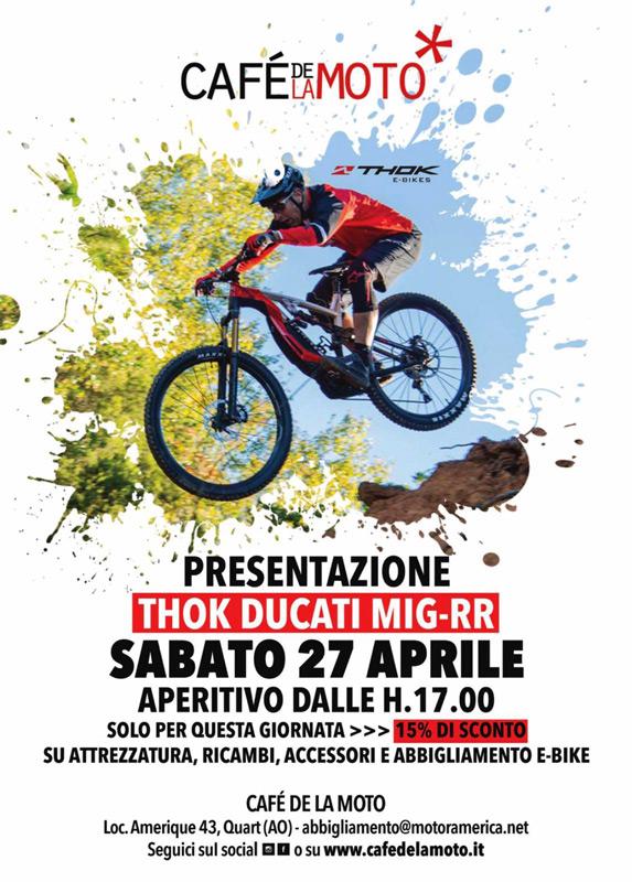 24 Aprile - Presentazione THOK DUCATI MIG-RR
